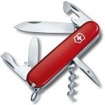Нож офицерский 91мм Victorinox Spartan 1.3603, 12 функций, 1 уровень, красный