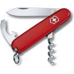Нож перочинный 84мм Victorinox Waiter 0.3303.B1, 9 функций, 1 уровень, красный