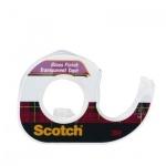 Клейкая лента канцелярская Scotch 12.7мм х 7.62м, прозрачная