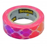 Клейкая лента декоративная Scotch Washi 15мм х10м, закат