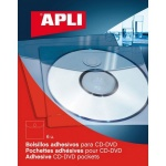 Самоклеящийся карман Apli А5, 6 шт/уп, 2576