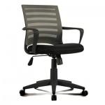 Кресло офисное Brabix Carbon MG-303 ткань, черная, крестовина пластик, черно-серое