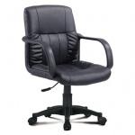 Кресло офисное Brabix Hit MG-300 иск. кожа, черная, крестовина пластик
