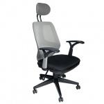 Кресло офисное Brabix Saturn ER-400 ткань, черная, крестовина пластик