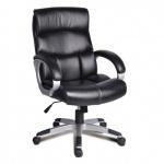 Кресло руководителя Brabix Impulse EX-505 иск. кожа, черная, крестовина пластик