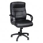Кресло руководителя Brabix Supreme EX-503 иск. кожа, черная, крестовина пластик