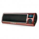 Магнитола Supra PAS-6255 коричневая, MP3/WMA/WAV