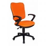Кресло офисное Бюрократ CH-540AXSN ткань, крестовина пластик, оранжевый