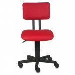 Кресло офисное Бюрократ CH-200NX ткань, красная, TW, крестовина пластик