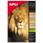 Фотобумага для струйных принтеров Apli А6, 100 листов, 240 г/м2, глянцевая