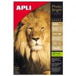 Фотобумага для струйных принтеров Apli А6, 20 листов, 240 г/м2, глянцевая