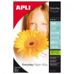 Фотобумага для струйных принтеров Apli А6, 20 листов, 180 г/м2, глянцевая