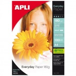 Фотобумага для струйных принтеров Apli А4, 180г/м2, глянцевая, 100 листов