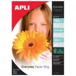 Фотобумага для струйных принтеров Apli А4, 20 листов, 180г/м2, глянцевая