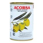 Оливки Acorsa зеленые без косточки, 425г