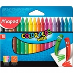 ����� �������� ���������� Maped Color'Peps Wax 18 ������, �����������