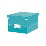 Архивный короб Leitz Click & Store-Wow, A5, 220x160x282 мм, бирюзовый
