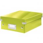 Архивный короб Leitz Click & Store-Wow, A4, 280x100x370 мм, зеленый