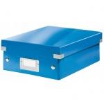 Архивный короб Leitz Click & Store-Wow, A4, 280x100x370 мм, синий