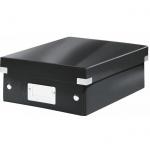 Архивный короб Leitz Click & Store-Wow, A4, 280x100x370 мм, черный