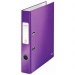 Папка-регистратор А4 Leitz 180° Wow фиолетовая, 50 мм, 10060062