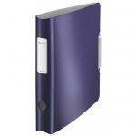 Папка-регистратор А4 Leitz 180° Active Style синий титан, 65 мм, 11090069