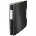 Папка-регистратор А4 Leitz 180° Active Style черная сталь, 65 мм, 11090094