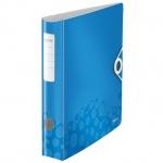 Папка-регистратор А4 Leitz 180° Active Wow синяя, 80 мм, 11060036