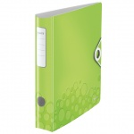 Папка-регистратор А4 Leitz 180° Active Wow зеленая, 80 мм, 11060064