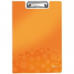 Клипборды с крышкой Leitz Wow оранжевая, А4, 41990044