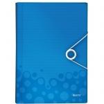 Папка-органайзер Leitz Wow, А4, 6 разделов, синяя