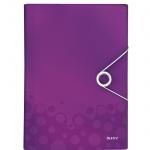 Папка-органайзер Leitz Wow, А4, 6 разделов, фиолетовая