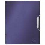 Папка-органайзер Leitz синий титан, А4, 12 разделов, 39960069
