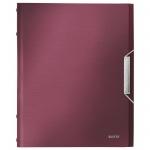 Папка-органайзер Leitz красный гранат, А4, 6 разделов, 39950028