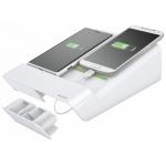 Зарядное устройство Leitz Complete 2 USB-порта, белое, 64450001