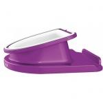 Подставка для планшета Leitz Complete WOW фиолетовая, вращающаяся, 62741062