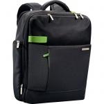 """Рюкзак для мальчиков Leitz Complete Smart Traveller черный, 15.6"""", 60170095"""