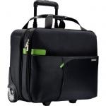 Портфель Leitz Complete Smart Traveller 420х370х200мм, черный, полиэстер, на колесиках