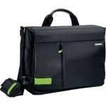 """Сумка для ноутбука Leitz Complete Smart Traveller 15.6"""", 130х280х380мм, черная"""