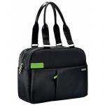 """Сумка для ноутбука Leitz Complete Smart Traveller 13.3"""", черная, 60180095"""