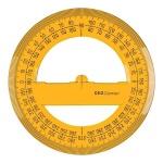 Транспортир Aristo 360°, основание 12см