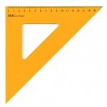 Угольник Aristo GEOContrast, 45°/45°, желтый, 17см