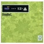 Салфетки Duni Venezia, 40х40см, 4 слоя, 12шт, зеленый