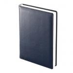 Ежедневник полудатированный Brunnen Оптимум Софт, А5, 176 листов, синий