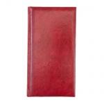 Ежедневник полудатированный Brunnen Вояж Мадера красный, А5, 180 листов