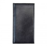 Ежедневник полудатированный Brunnen Вояж Мадера, А5, 180 листов, черный