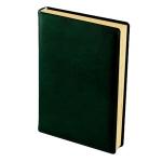 Ежедневник полудатированный Brunnen Оптимум Ля Фонтейн зеленый, А5, 180 листов