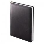 Ежедневник полудатированный Brunnen Оптимум Ля Фонтейн, А5, 180 листов, черный