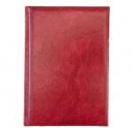 Ежедневник полудатированный Brunnen Оптимум Мадера темно-красный, А5, 180 листов