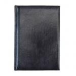 Ежедневник полудатированный Brunnen Оптимум Мадера черный, А5, 180 листов